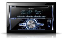 Pioneer FH-X700BT Car Double Din CD MP3 USB AUX Player Bluetooth iPod Control Android Compatible